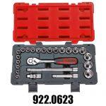 Coffrets de Douilles et Cliquets Accessoires KS Tools 1/2