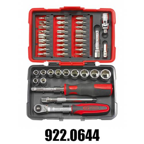 Coffrets de Douilles et Cliquets Accessoires KS Tools 1/4