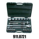 Coffrets de Douilles et Cliquets Accessoires KS Tools 3/4