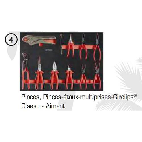 Servante KS tools MIAMI 7 Tiroirs Édition Limitée Équipée de 309 Outils