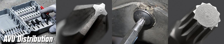 Boîte de 6 Tournevis ULTIMATEmax 3.5 à 8 mm PH1 à PH3 KS Tools